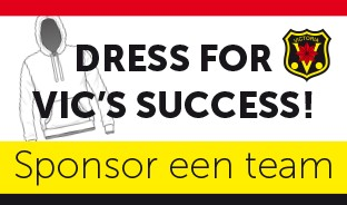 Dress for VIC's Succes | Sponsor een team